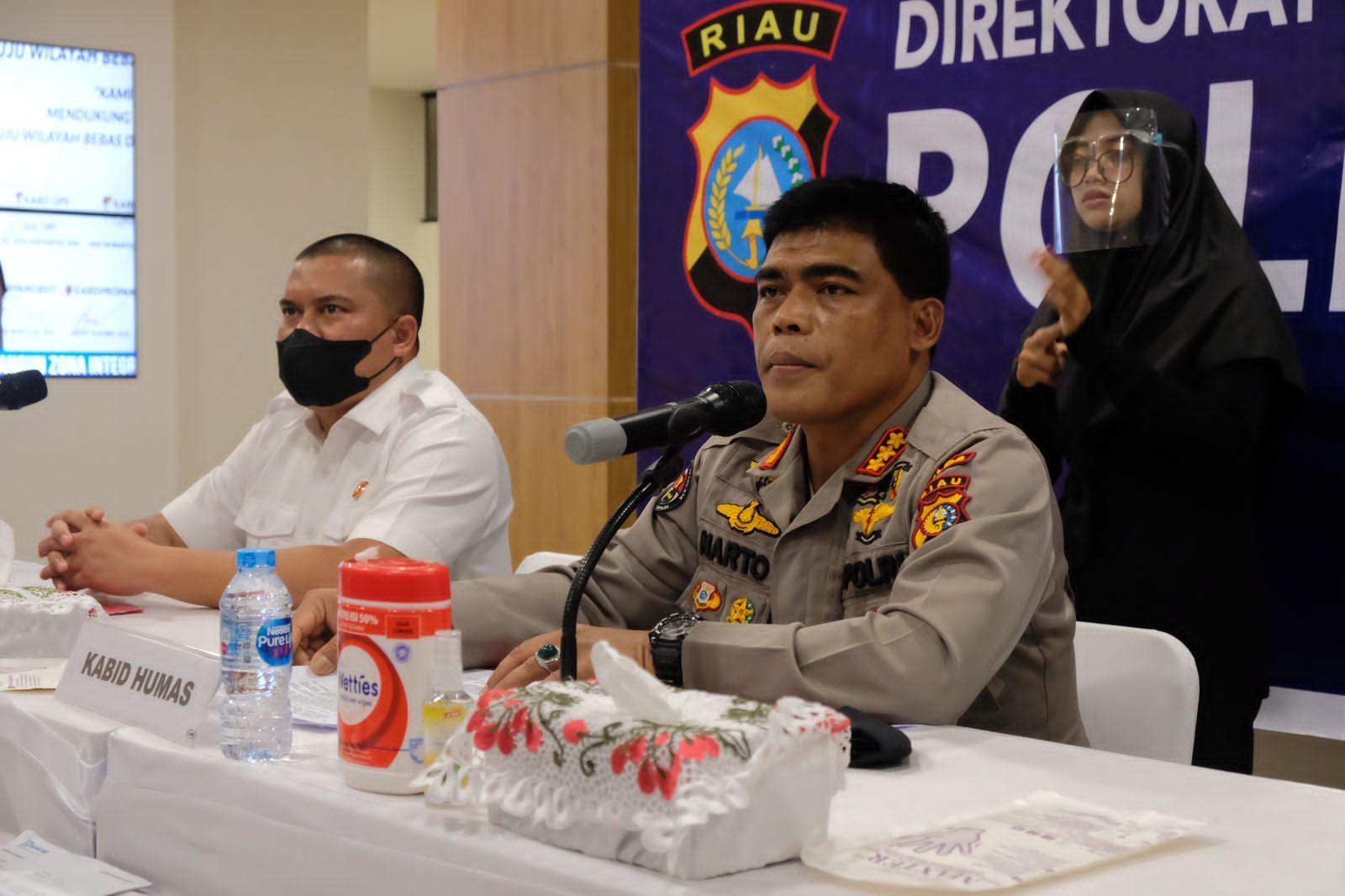 Polda Riau Ungkap Kasus Penggelapan Rugikan Pengusaha Sembako Senilai Rp 3,7 M