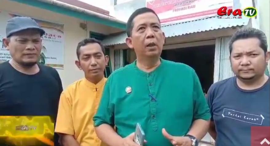 Keren...DPD PWRI Riau Pasang Plang Sekretariat