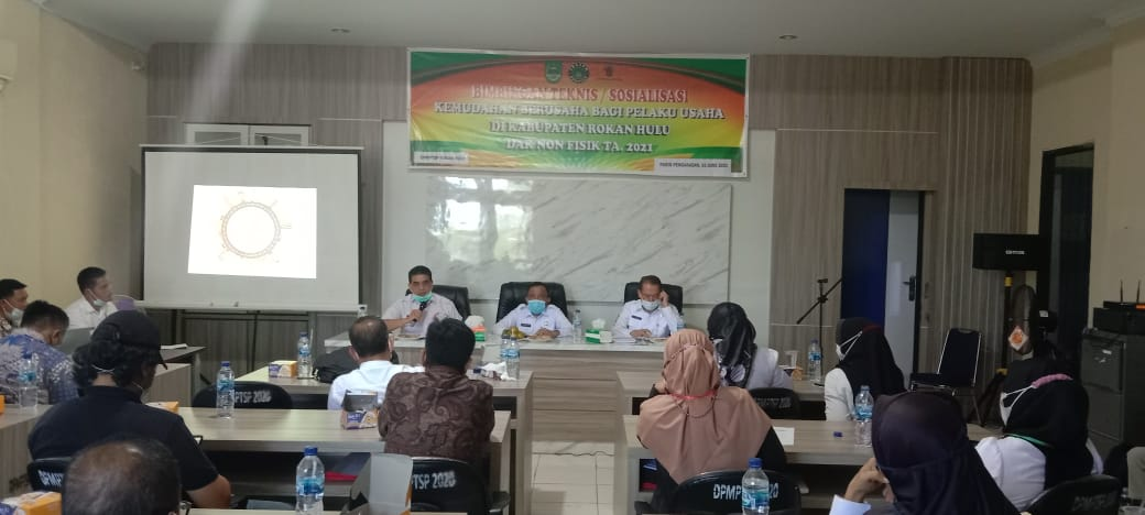 Perizinan Usaha Dipermudah, DPMPTSP Rohul Dorong Kemitraan UMKM Terintegrasi dengan Perusahaan Besar