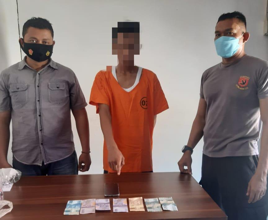 Jual Nomor Judi Togel Dikedai Tuak, Pelaku Ditangkap Unit Reskrim Polsek Kampar Kiri Hilir