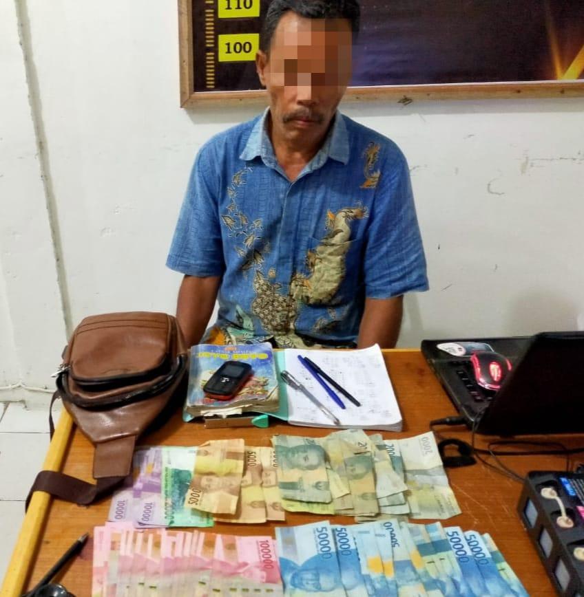 Jual Nomor Judi Togel Dikedai Tuak, Pelaku Ditangkap Unit Reskrim Polsek XIII Koto Kampar