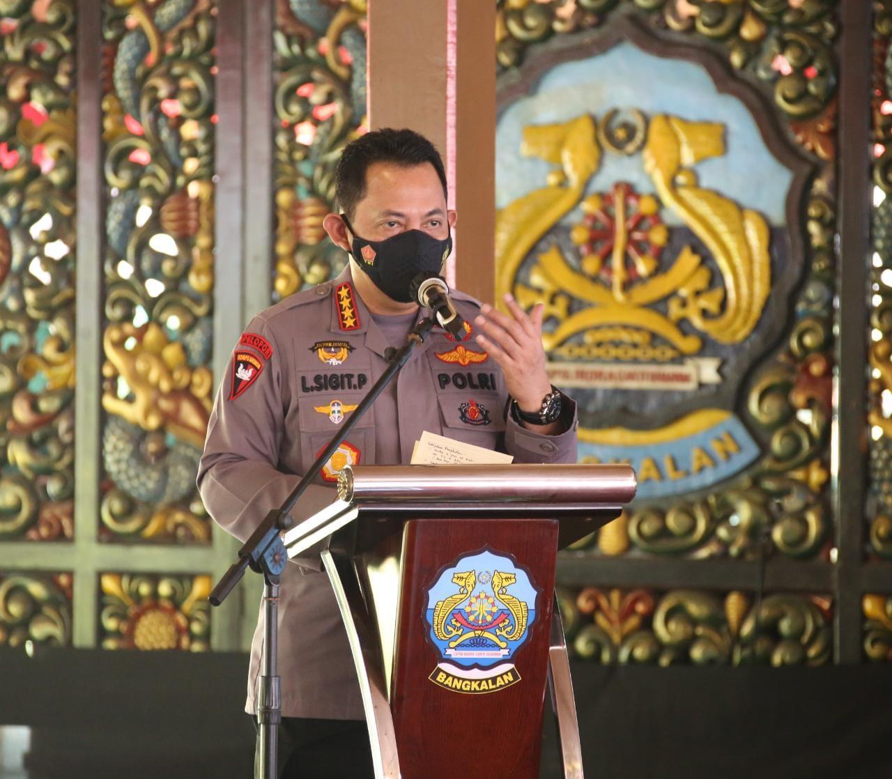 Panglima TNI dan Kapolri Ajak Tokoh Agama Bangkalan, Bantu Cegah Penyebaran Covid-19