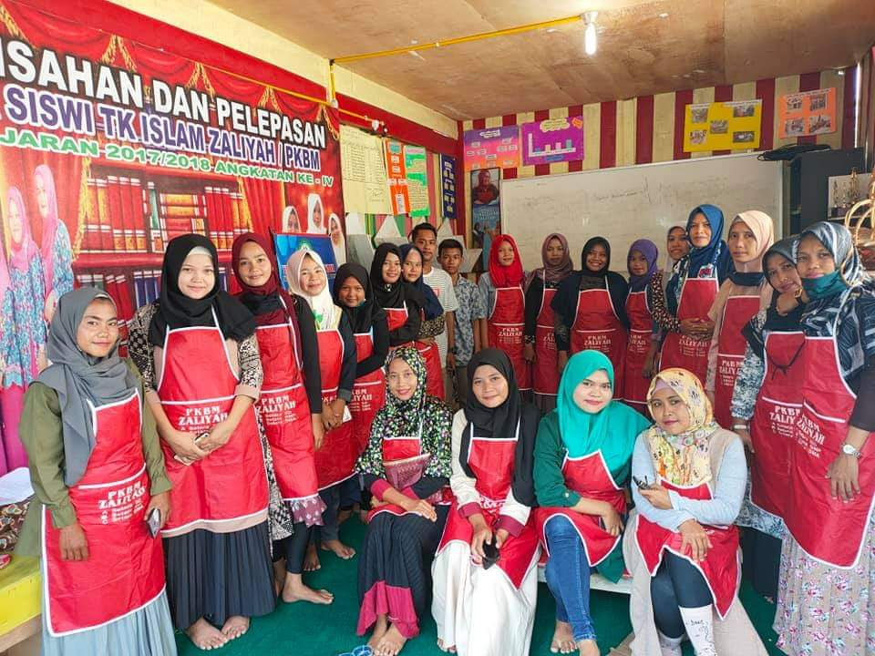 Konsep,Warga Belajar,PKBM Islam Zaliyah Rohul Ukir Kreasi Inovatif,Ciptakan,Life Skill