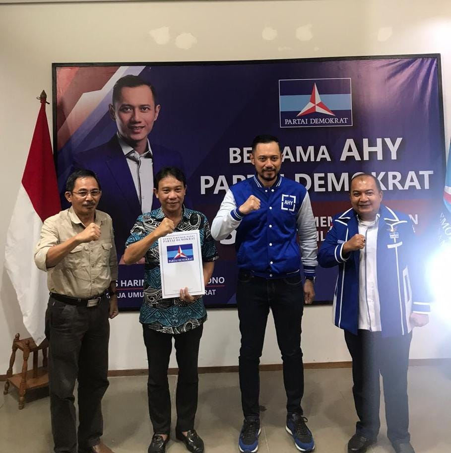 Sah..!!,Paslon Ingati dan Otorius Dapat Rekomendasi Dari Partai Demokrat Pada Pilkada Nisut