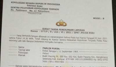 Warga Desa Petapahan Resmi Laporkan PT PSPI ke Polda Riau, Didampingi Kuasa Hukum