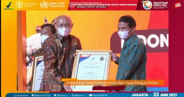 Desa Bukit Intan Makmur Juara 2 Nasional Dalam Lomba Desa Pangan Aman, Bupati Rohul Bangga