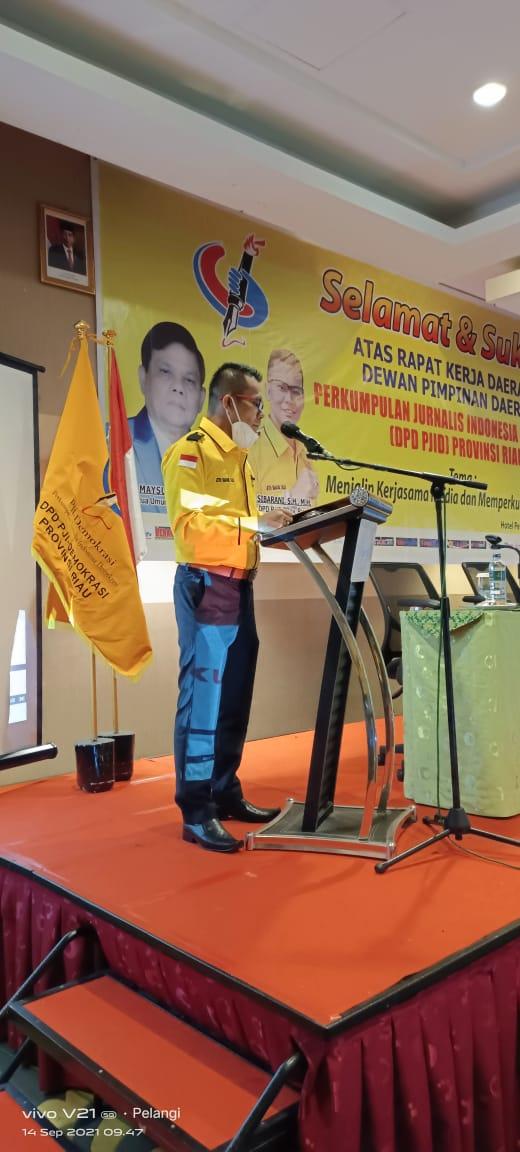 DPD PJID Riau Sukses Gelar Rakerda