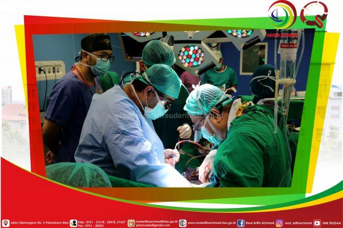 RSUD Arifin Achmad Provinsi Riau kembali lakukan operasi bedah jantung