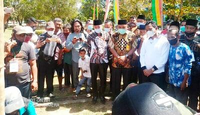 Idul Adha 1442 H 2021 Masehi, DLH Rohil Laksanakan Penyembelihan 9 Ekor Hewan Qurban