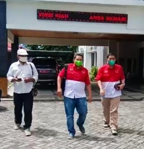 DPD PWRI Berkunjung Satpol PP Provinsi Riau, Hadi Penandio: Welcome