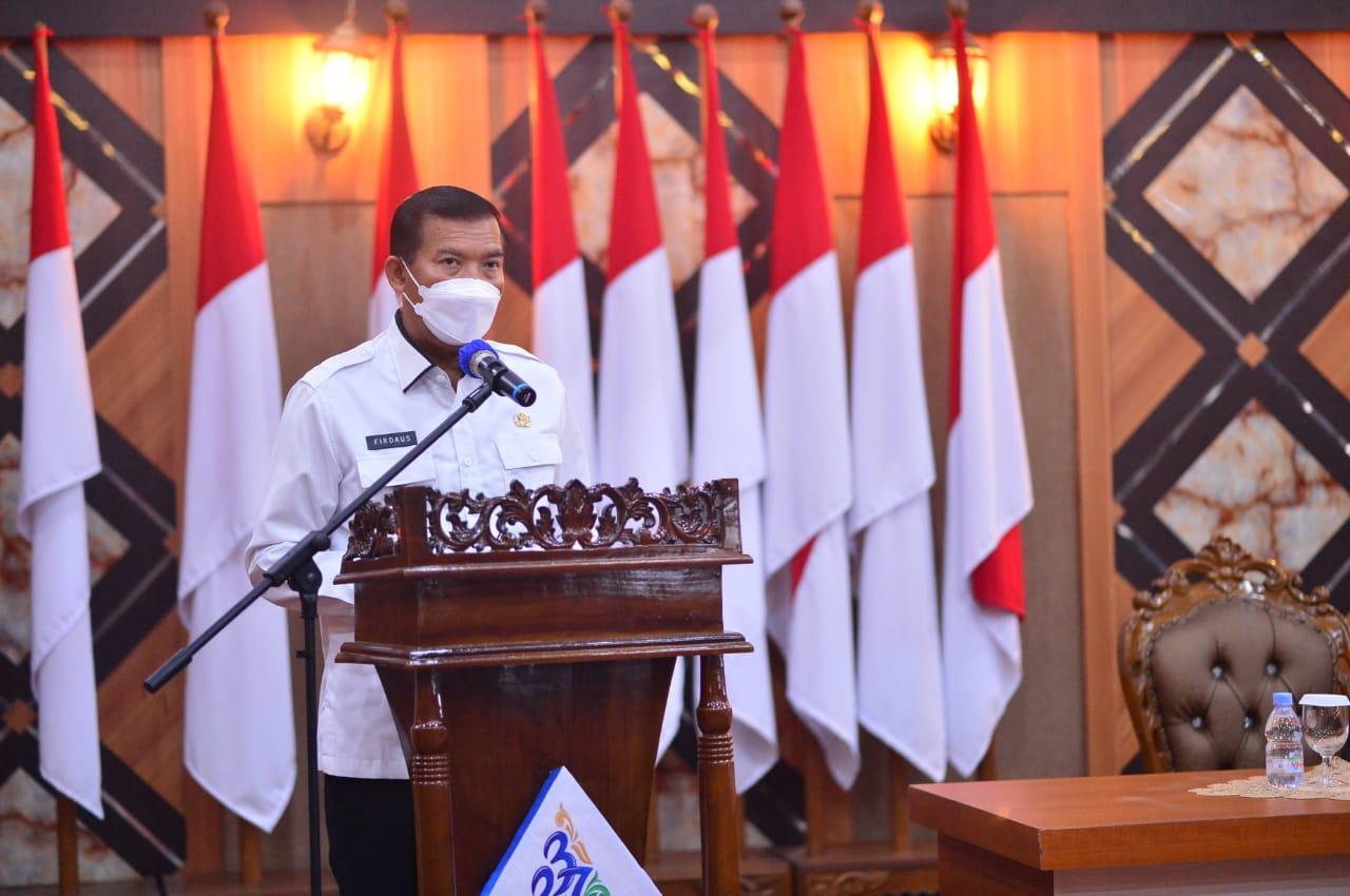 Vaksinasi Covid-19 di Kota Pekanbaru Lampaui Nasional