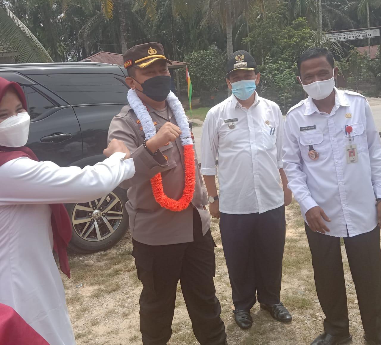 Kapolres AKBP Taufiq Lukman Nurhidayat, Minta Polri Dan Tim Satgas Covid-19 Bekerja Seperti Pramugari