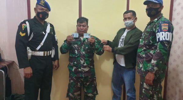 Gelagat Mencurigakan Saat Ditanya,Pria Ini Rupanya TNI Gadungan