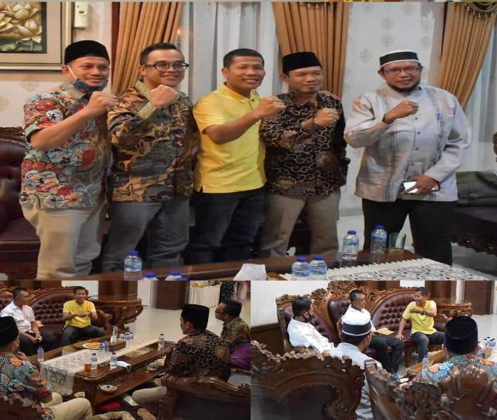 Ketua DPRD Provinsi Riau Menerima Silaturahmi Direktur Politeknik Bengkalis