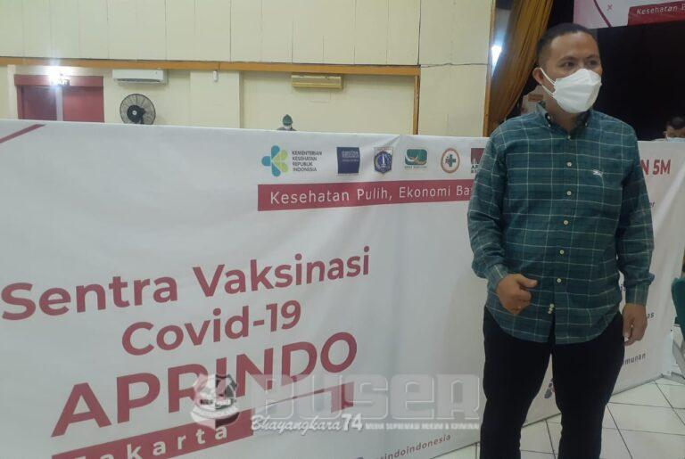 Aprindo Jakarta Utara Gelar Vaksinasi Massal Tahap Ke Dua